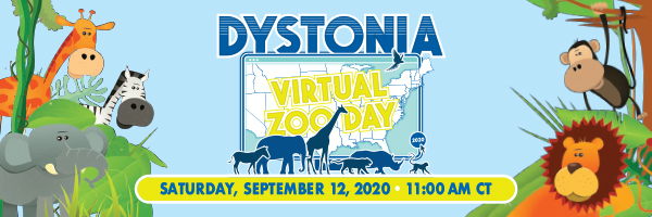 Virtual Dystonia Zoo Day @ Online Live Stream