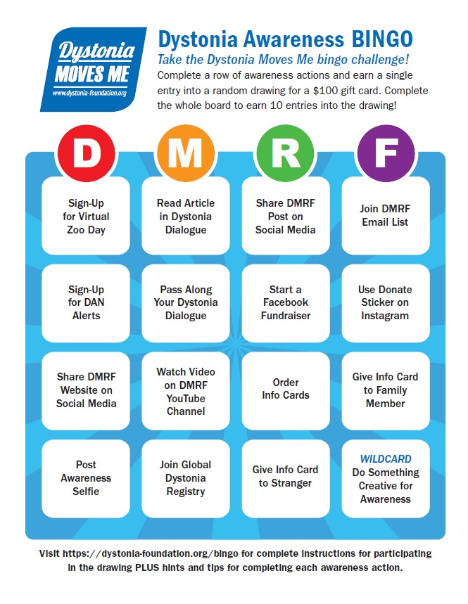 DRAFT Bingo Card color
